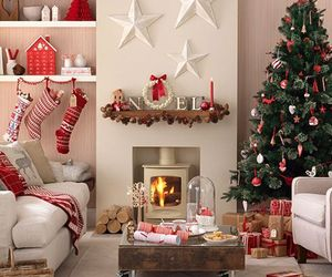 christmas, decorating, and ideas image