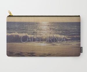 bag, gifts, and ocean image
