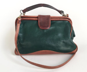 etsy, trashed by time, and leather purse image
