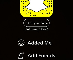 follow, me, and snapchat image