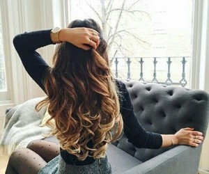fashion, style, and ombre image