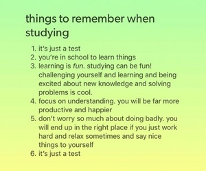 college, high school, and motivation image