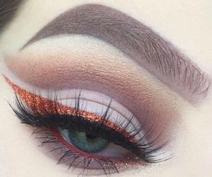 beauty, eyes, and cosmetics image