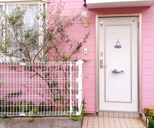 pink, aesthetic, and house image