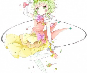 standing on one leg, gumi, and leg up image