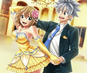 Elle, haru glory, and rave master image