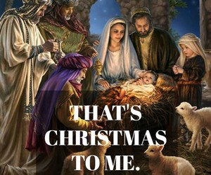 beautiful, Christ, and christmas image