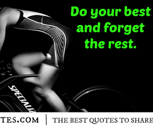 Best, forget, and fitness quote image