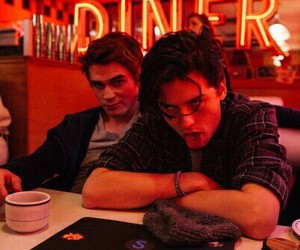 riverdale, cole sprouse, and boy image