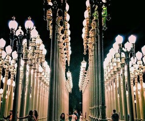 lights, los angeles, and places image
