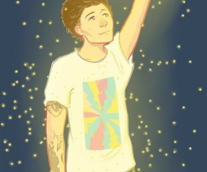louis tomlinson, fanart, and one direction image