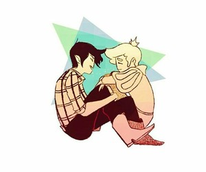 couple, gay, and adventure time image