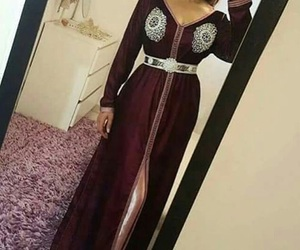 fashion, woman girl, and moroccan dress image
