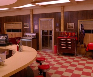 retro, Twin Peaks, and vintage image