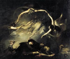 art, painting, and henry fuseli image