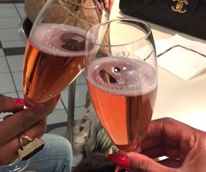 champagne, glamour, and glass image