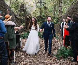 wedding and troian bellisario image