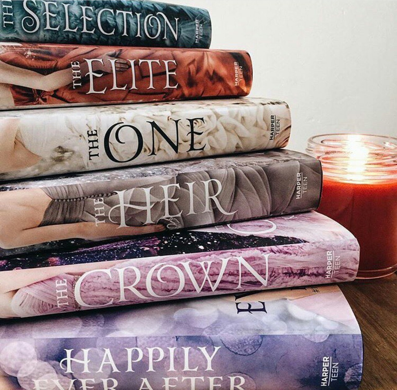 book, happily ever after, and kiera cass image