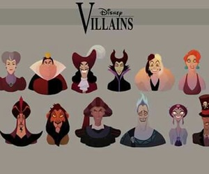 disney, villains, and princess image