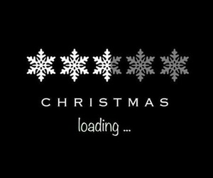 christmas, winter, and loading image