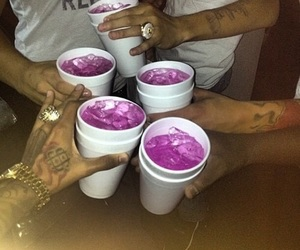 purple, drink, and party image