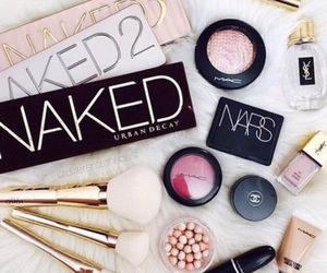 naked, chanel, and mac image