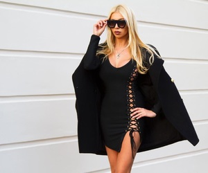 blonde, fashion, and sexy image