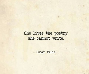 beautiful, oscar wilde, and poetry image