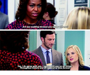 funny, michelle obama, and tumblr image