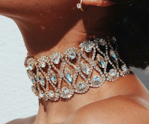 choker, luxe, and rich image