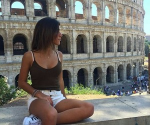 coliseo, colosseum, and girl image