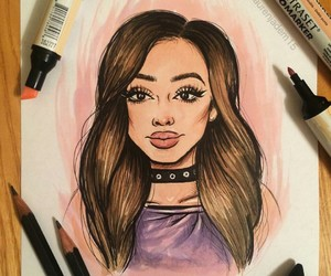 art, little mix, and drawing image