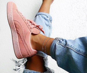 color, fashion, and sneakers image