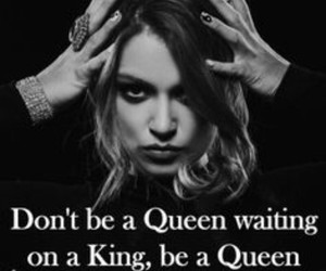 Queen, goals, and quote image