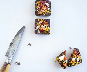 chocolate, coconut, and seeds image