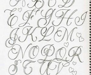 draw, leters, and abecedario image
