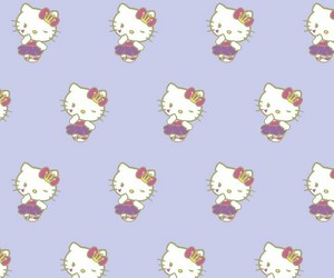 hello kitty, HK, and pattern image