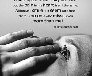 quotes, sad, and tears image
