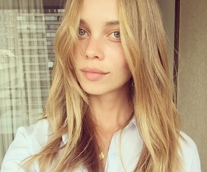 blonde, hair, and medium image