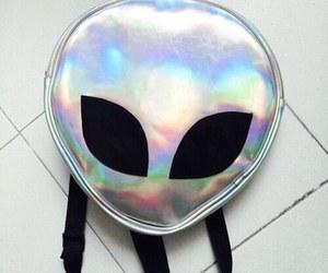alien, bag, and grunge image