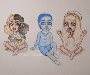 melanie martinez, drawing, and pacify her image