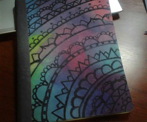 crafts, diy, and notebooks image