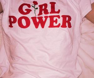 pink, girl, and girl power image