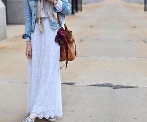 fashion, model, and white image