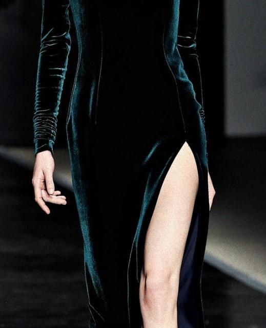fashion, dress, and velvet image