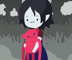 marceline, adventure time, and cartoon network image