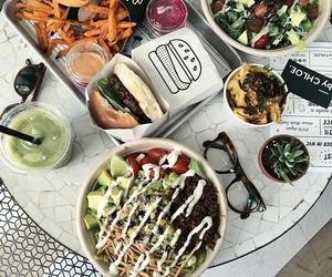 food, healthy, and burger image