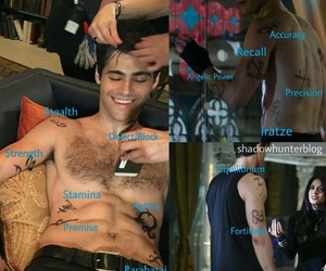 the mortal instruments, runes, and alec lightwood image