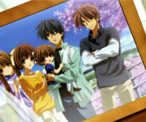 clannad, anime, and family image