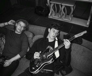 shawn mendes, music, and guitar image